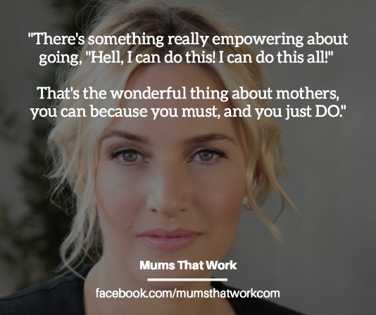 30 Celebrity Power-Women On Motherhood & Working |MumsThatWork.com