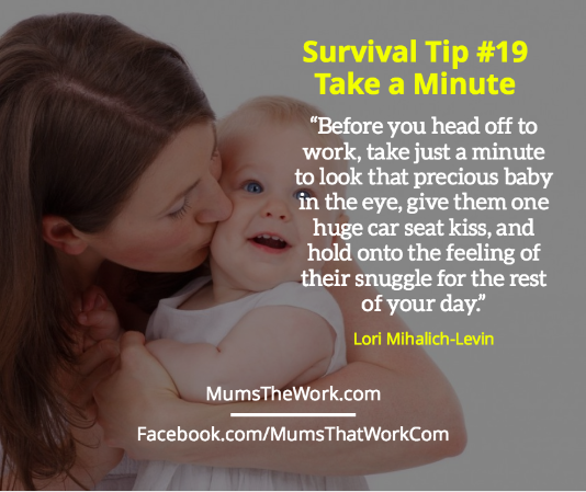 50 Real Working Mum Survival Tips To Help You Stay Sane| mumsthatwork.com